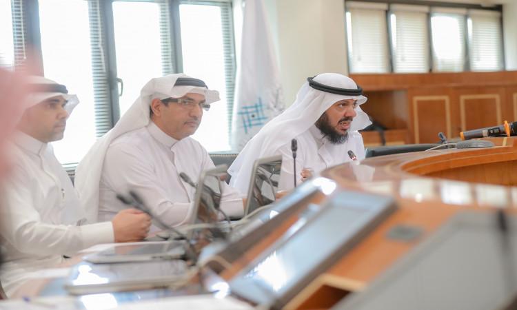 جامعة القصيم عمادة القبول والتسجيل تعقد الاجتماع الثاني للجنة الشؤون التعليمية الفنية